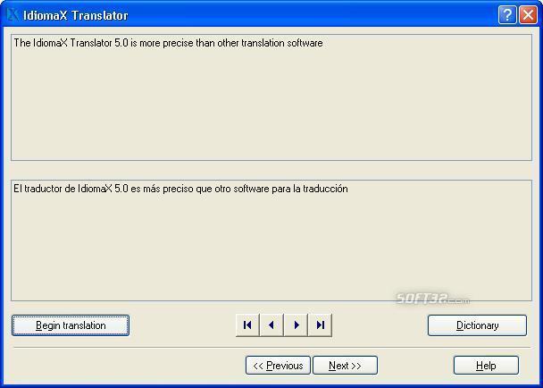 IdiomaX Translator Screenshot 2