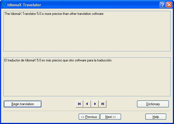 IdiomaX Translator Screenshot