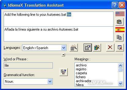 IdiomaX Translation Suite Screenshot 2