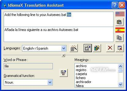 IdiomaX Translation Assistant Screenshot 2