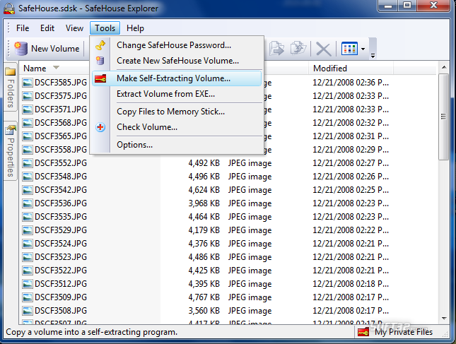 SafeHouse Explorer USB Disk Encryption Screenshot 2