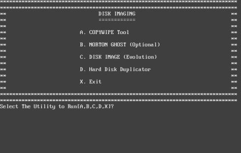 UltraBootCD Screenshot
