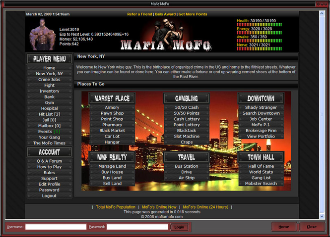 Mafia MoFo Screenshot