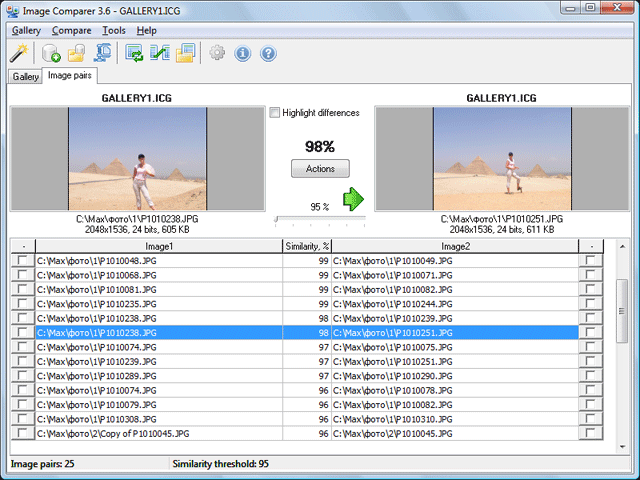 Duplicate Photo Finder Screenshot 1