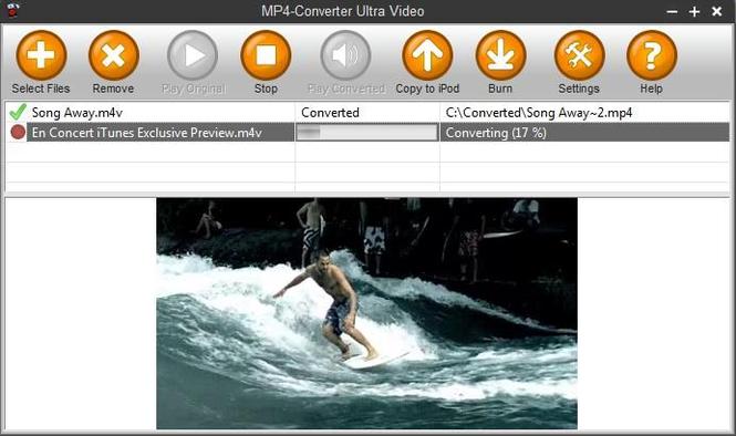 MP4-Converter Ultra Screenshot