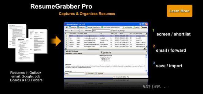 ResumeGrabber Pro Screenshot 3