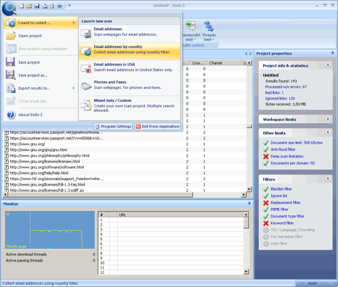 EmEx 3 Screenshot