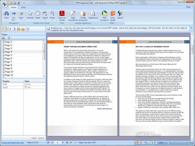 Perfect PDF Reader Screenshot 2