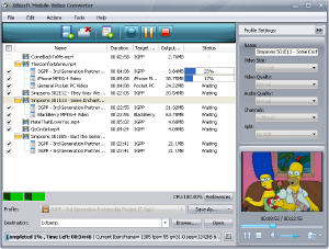 Xilitech Mobile Video Converter Screenshot