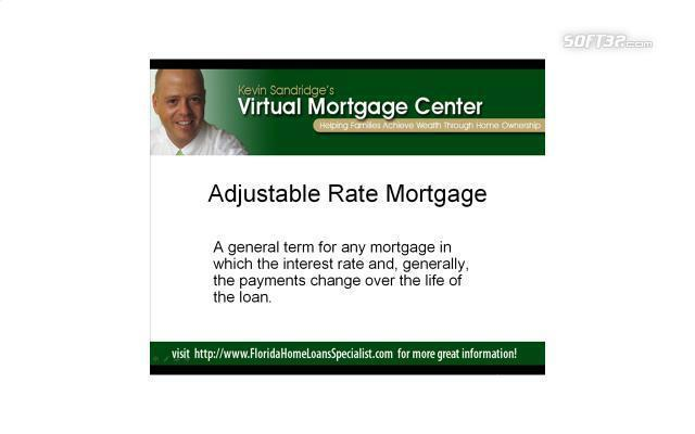 Florida Mortgage Terms Screensaver Screenshot 1
