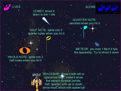Music Notes In Space HN Screenshot 2