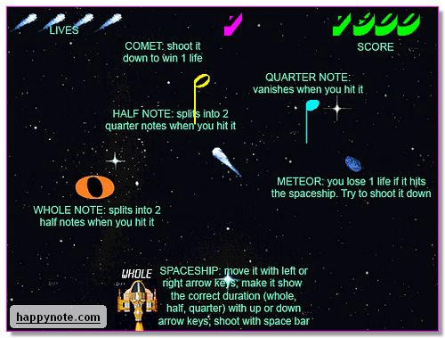 Music Notes In Space HN Screenshot 1