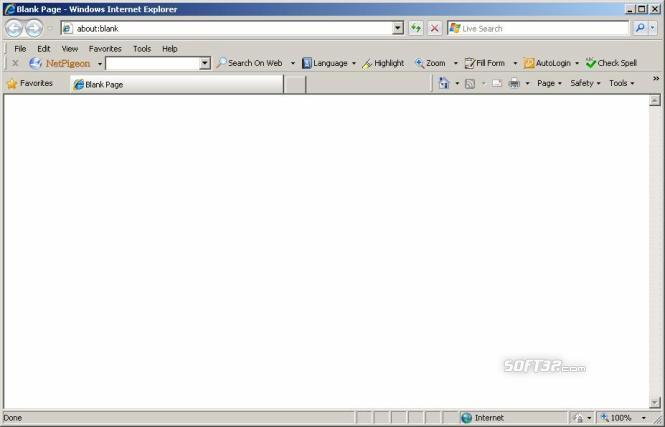 NetPigeon Toolbar for Internet Explorer Screenshot 3