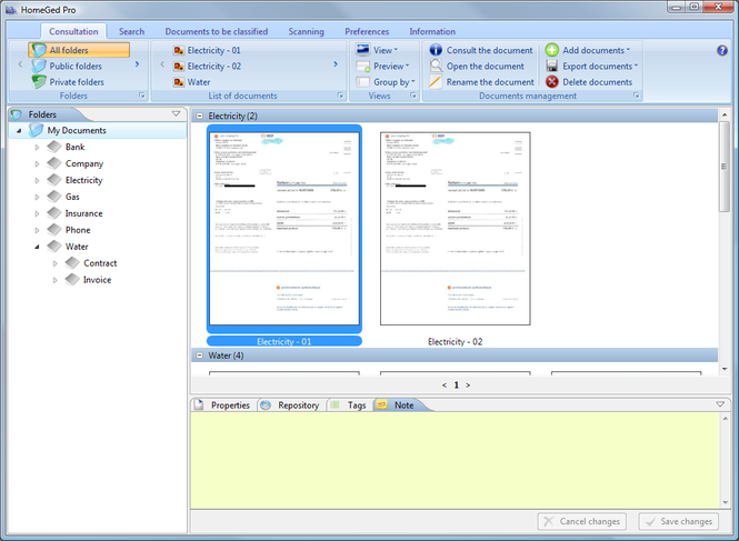 HomeGed ( Windows ) Screenshot