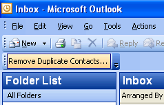 Remove Duplicate Contacts for Outlook Screenshot 1