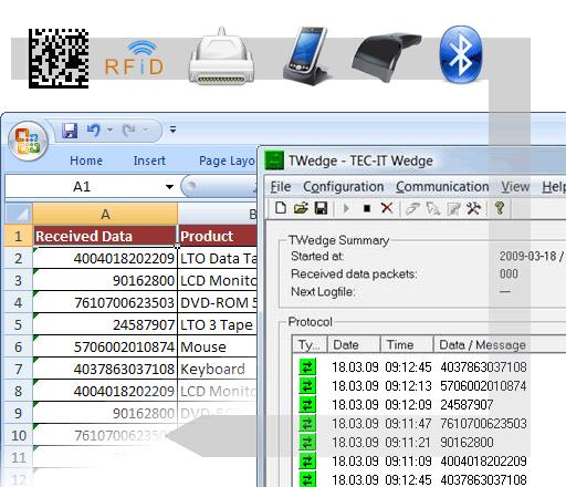 Keyboard Software Wedge TWedge Screenshot 1