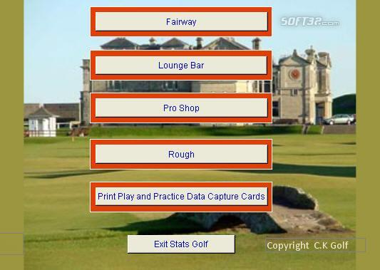Stats Golf Screenshot 2