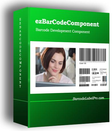 ezBarcodeComponent Screenshot