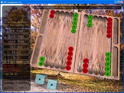 2010 Backgammon Pro Screenshot 2