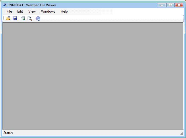 INNOBATE Westpac File Viewer Screenshot