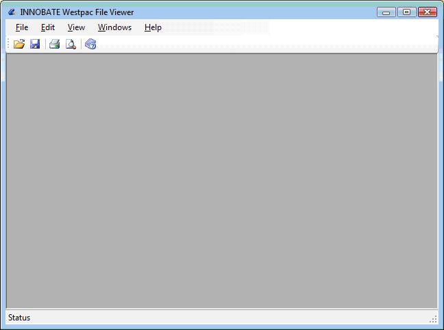 INNOBATE Westpac File Viewer Screenshot 1