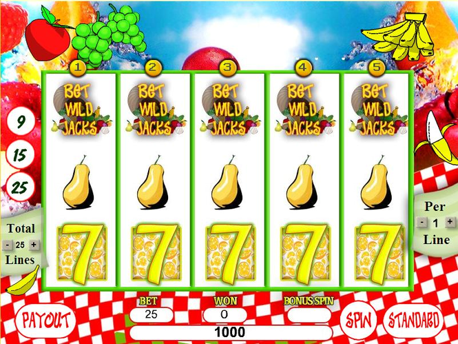 Fruits Slots Screenshot