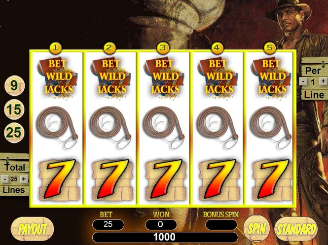 Indiana Slots Screenshot 1