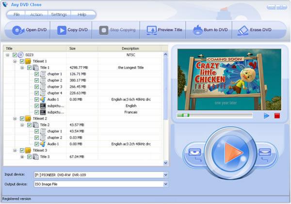 Any DVD Clone Screenshot