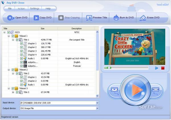 Any DVD Clone Screenshot 3