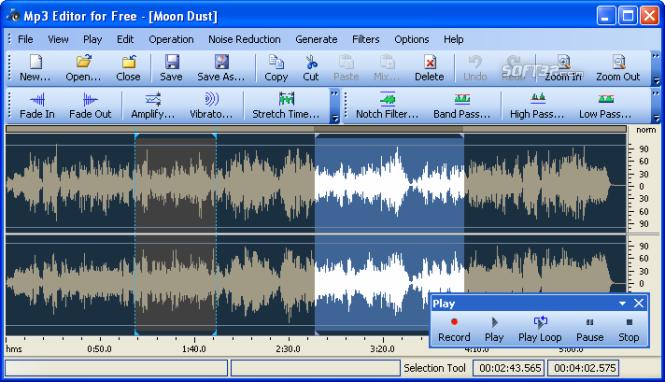 Mp3 Editor for Free Screenshot 3