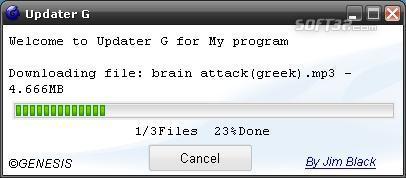 Updater-G Screenshot 3