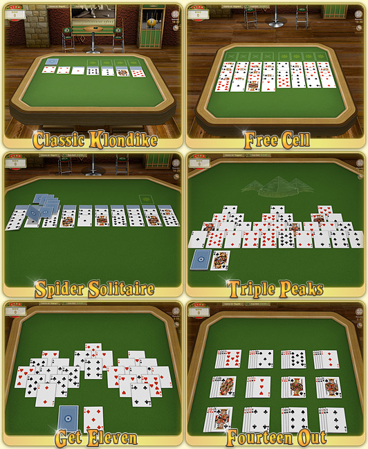 Royal Solitaire Card Games Screenshot