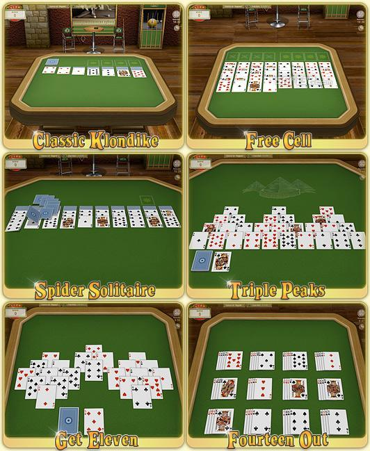 Royal Solitaire Card Games Screenshot 2