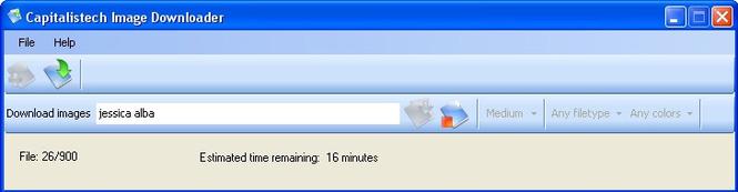 Capitalistech Image Downloader Screenshot