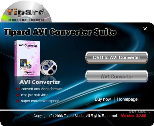 Tipard AVI Converter Suite Screenshot 2