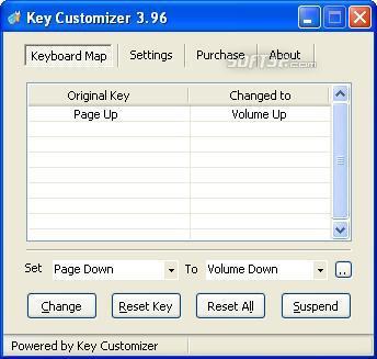 Key Customizer Screenshot 2