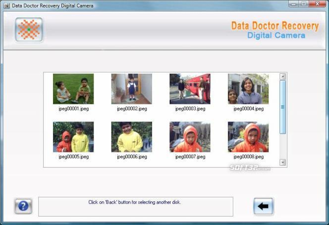 Restore Digital Camera Screenshot 3