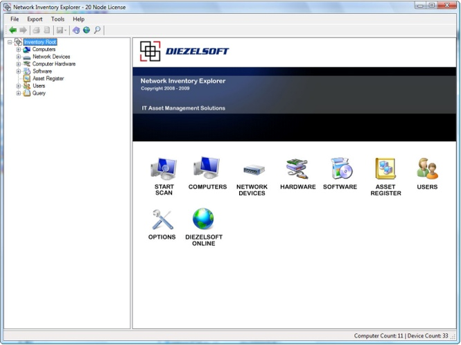 Network Inventory Explorer Screenshot 1