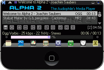 Alpha 2 Player Screenshot 1