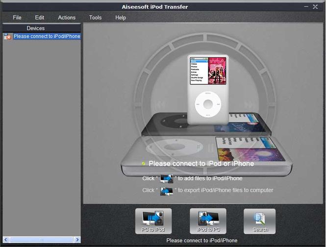 Aiseesoft iPod Transfer Screenshot 2