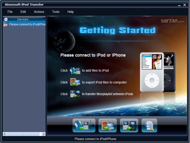 Aiseesoft iPod Transfer Screenshot 3