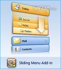 AllWebMenus Sliding Menus Add-in Screenshot 3