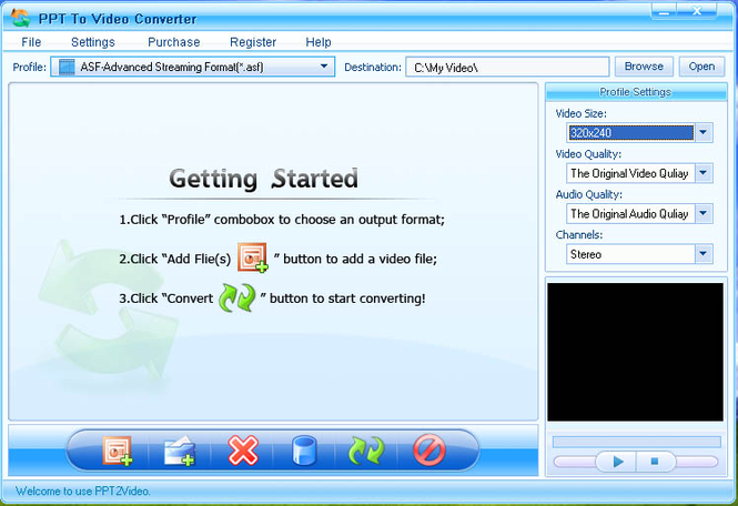 Shine PPT To Video Converter Screenshot 1