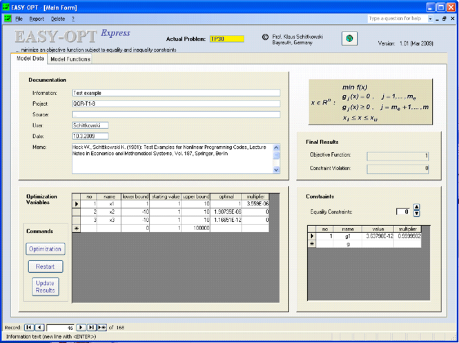 EASY-OPT Express Screenshot 1