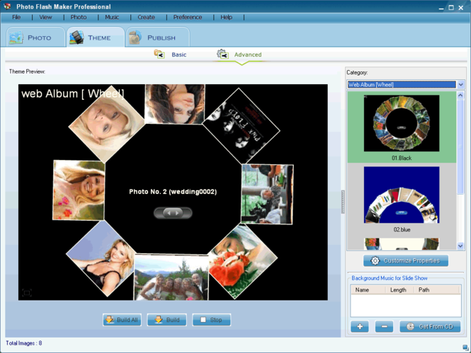 Photo Flash Maker Free Version Screenshot 1