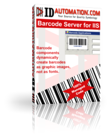 IDAutomation ASP Barcode Server for IIS Screenshot