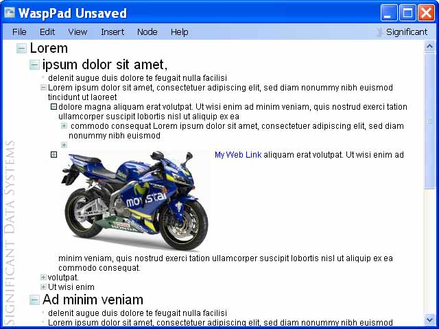 WaspPad Screenshot 1