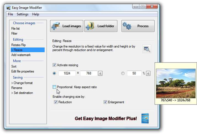 Easy Image Modifier Screenshot 1
