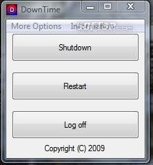 DownTime Screenshot