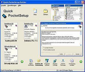 Quick PocketSetup Professional Screenshot 3